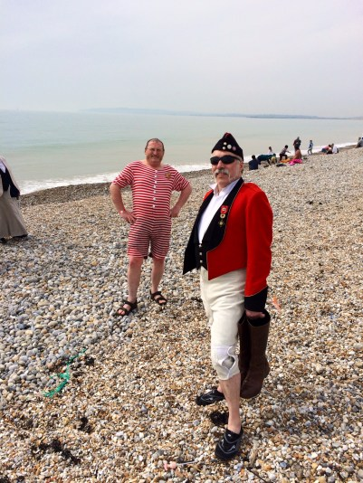 Steam Punkers on Rye beach