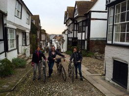 Exploring historic Rye