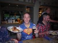 Superheros need to eat too