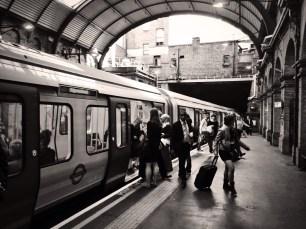 Leaving London behind