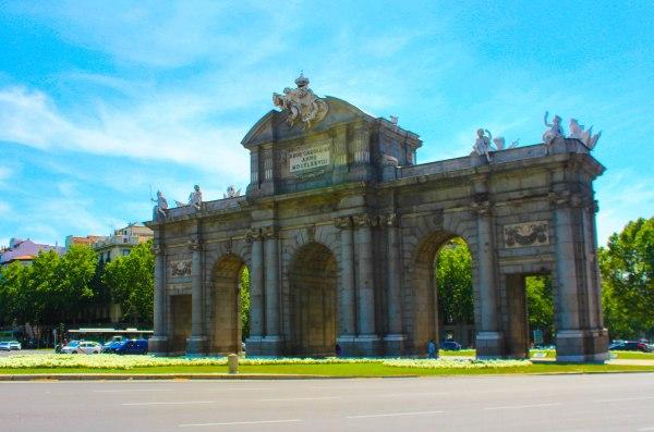 Puerta De Alcal Spain In Focus