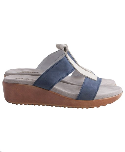 Дамски чехли естествена кожа 607-2