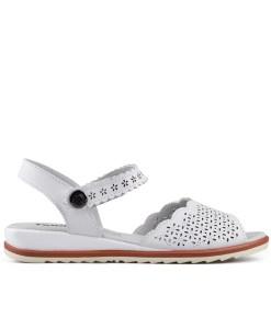 Дамски сандали естествена кожа 18-400-1