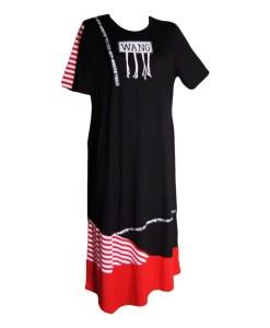 Дамска макси рокля XL 18-199-7