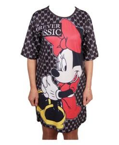 Дамска спортна рокля 018-312-2 с Мини Маус