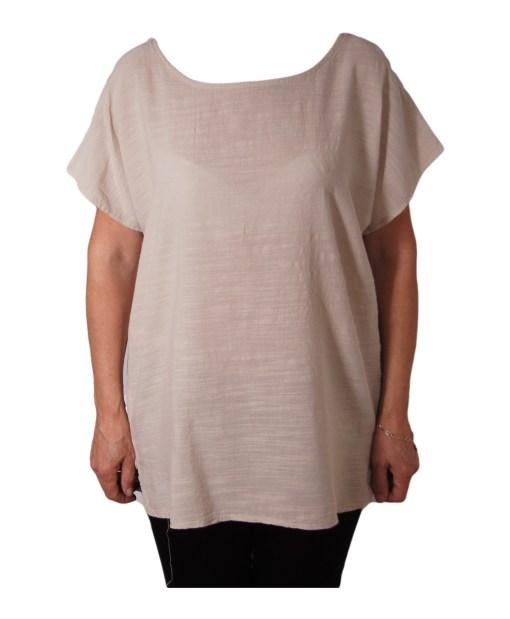 Дамска блуза XL 119-263-62 цвят бяла
