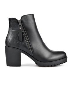 Дамски боти 0019-200-52a цвят черен