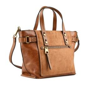 Дамска чанта 002-699-4 цвят кафяв