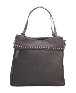 Дамска чанта 002-698-3 цвят сив