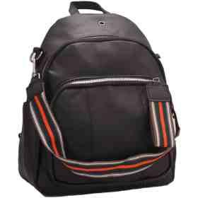 Дамска чанта 002-697-1 цвят черен