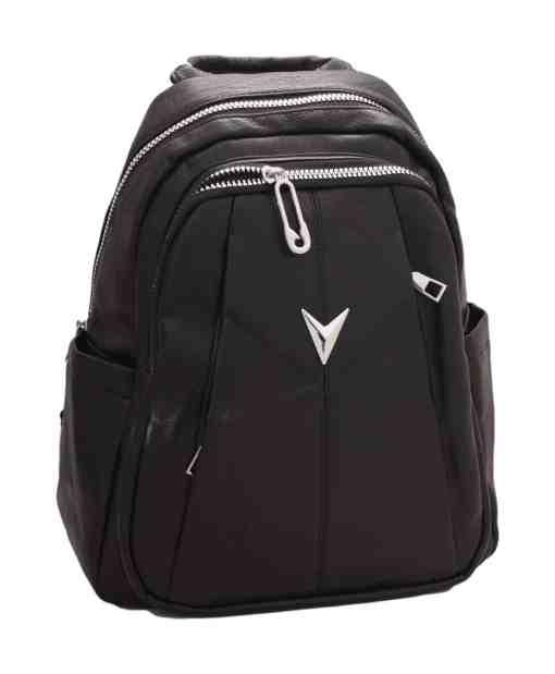 Дамска чанта 002-697-4 цвят черен