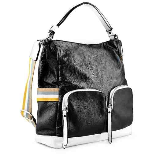 Дамска чанта 002-695-54 цвят черен
