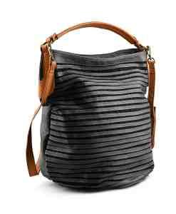 Дамска чанта 002-695-5 цвят черен