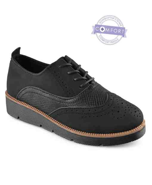 Дамски обувки 085-5 цвят черен