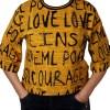 Дамска блуза 0019-565-1 цвят горчица