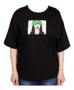 Дамска блуза 0019-563-73 цвят черен