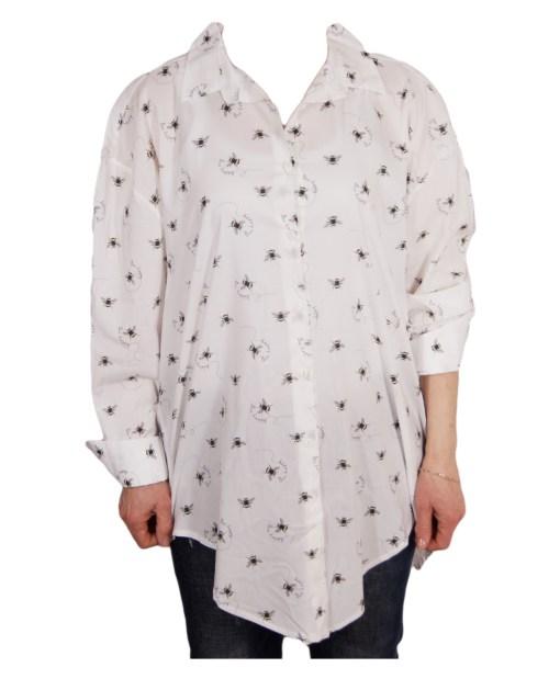 Дамска блуза XL 119-250-53 цвят бял