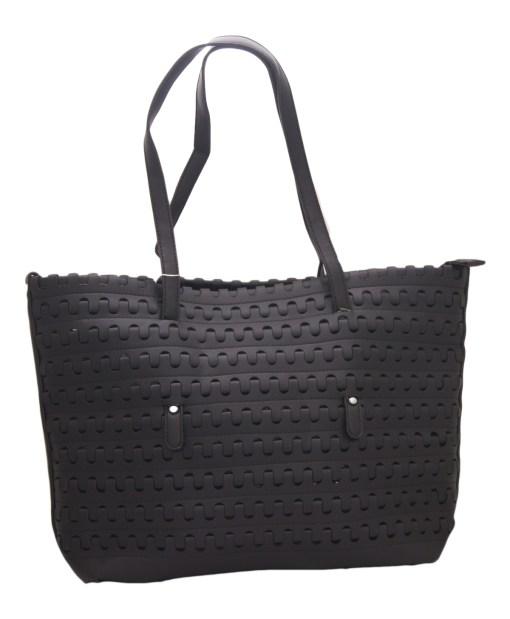 Дамска чанта 002-692-1 цвят черен