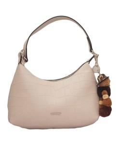 Дамска чанта 002-692-61 цвят екрю