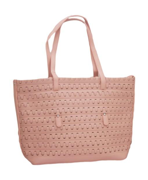Дамска чанта 002-692-4 цвят розов
