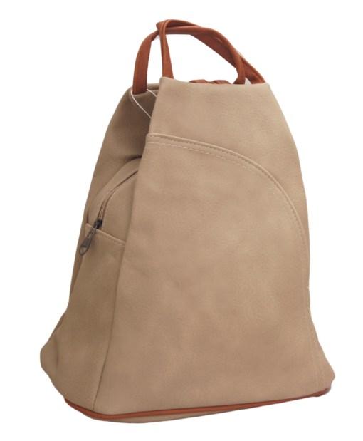 Дамска чанта 002-691-47 цвят бежов