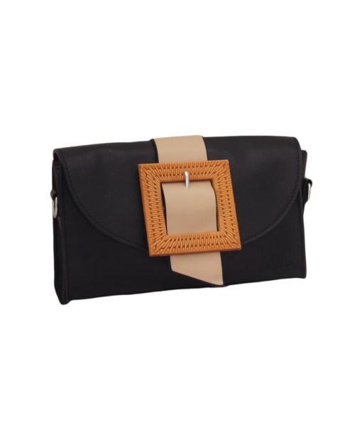 Дамска чанта 002-690-67 цвят черен