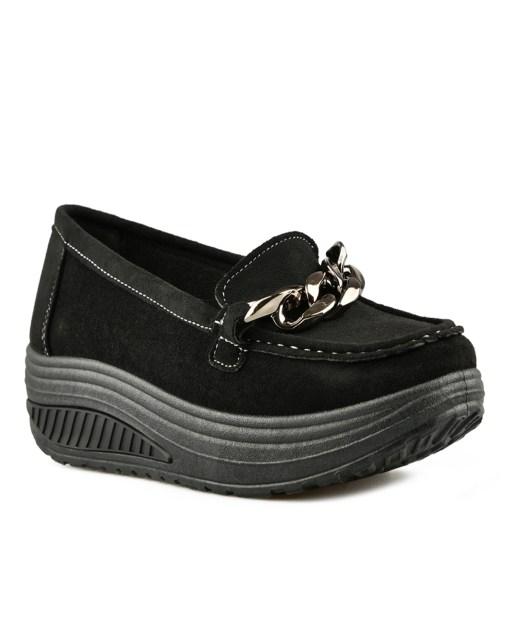 Дамски обувки 084-6 цвят черен