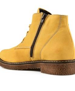 Дамски обувки естествена кожа 08-177-1цвят горчица