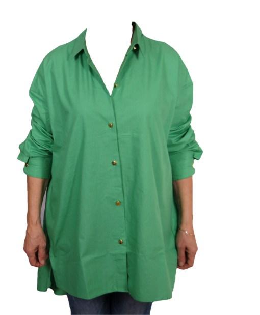 Дамска блуза XL 01-100-5 цвят зелен