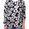 Дамска блуза XL 01-097-50 цвят сив