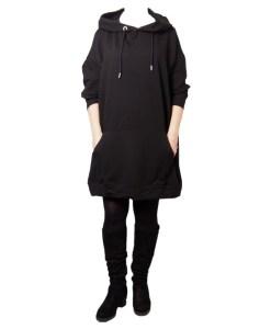 Дамска рокля 017-190-71 цвят черен