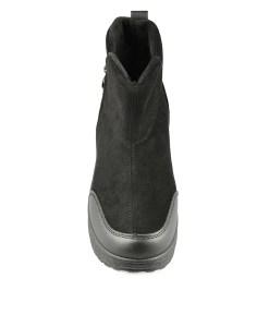 Дамски боти 08-90-80 цвят черен
