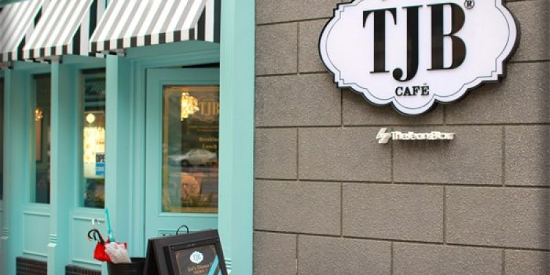 ﹝3Y2M3D﹞TJB CAFÉ 。被浪漫的土耳其藍包圍著