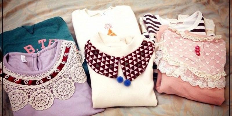 小人衣就是拿摸好買~~過年前搶便宜@五分埔《Blog365-59》