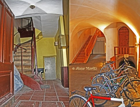 Entrances and stairs, Hall in Tirol