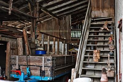 Abandoned house - the garage