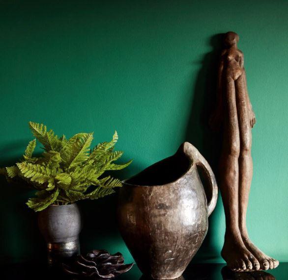 Abigail Ahearn Mercer Green Paint