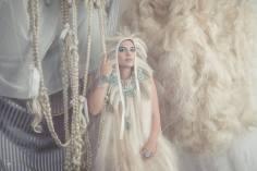 Jewelry: Cadia Romano Photography: Olga Makarova Hair/Set Design: Anna Rose