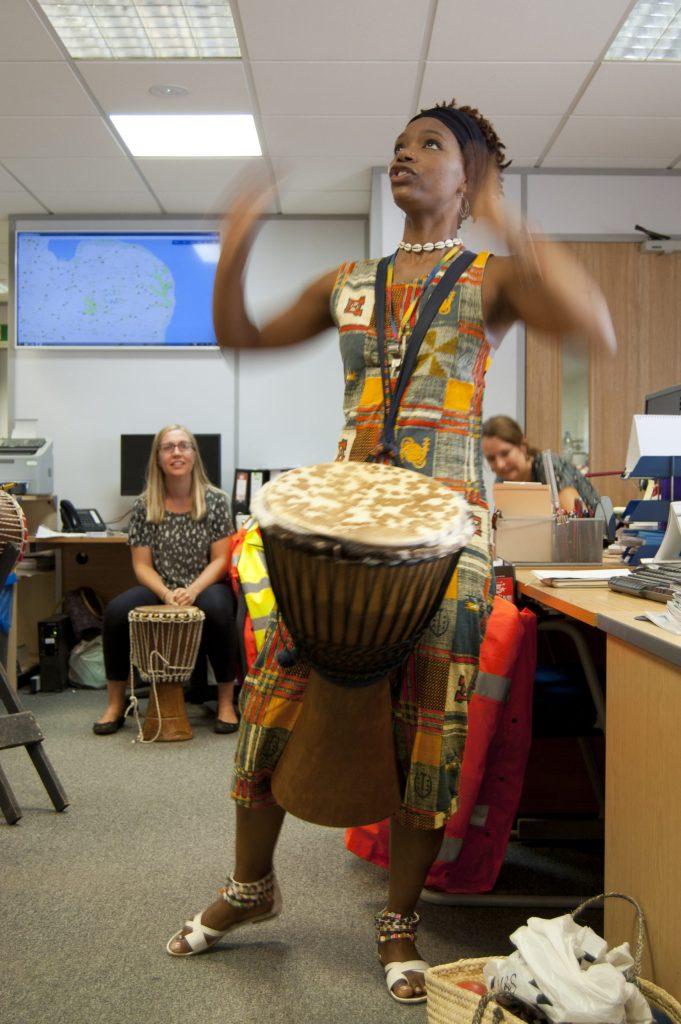 Anna Drumming 1