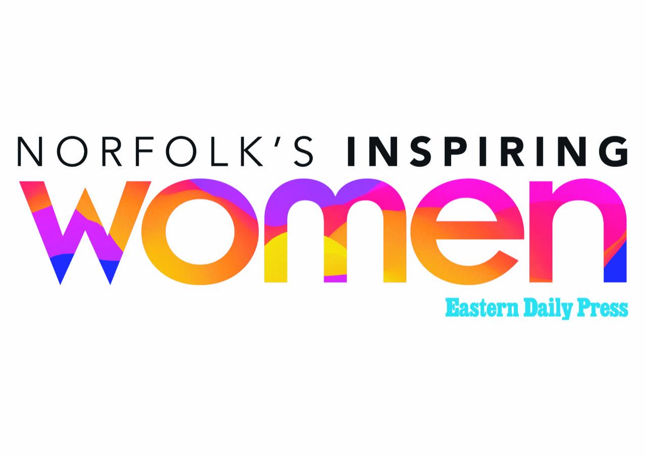 Norfolk's Inspiring Women logo
