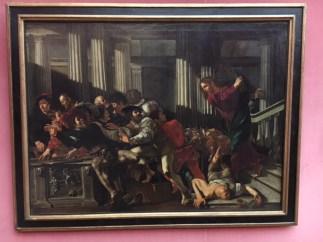 Francesco Boneri (Cecco), Christ Clearing the Temple (1610)