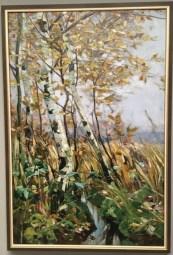 Karl Hagemeister, Birchgrove in Autumn (1893)