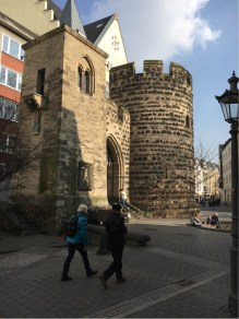 A Remnant of the Middle Ages Wall around Bonn