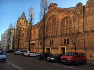 Kulturbrauerei - external facade