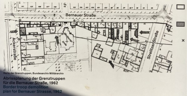 The demolition plan, 1962