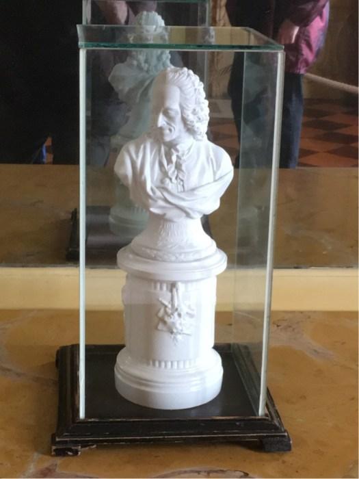 Sanssouci - shelf Bust of Voltaire (25 cms)