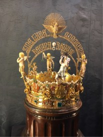Saville Cathedral - a Crown for Mary, in the Cathedral Treasury