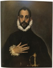 El Greco, The Nobleman with his Hand on his Chest, c. 1580.