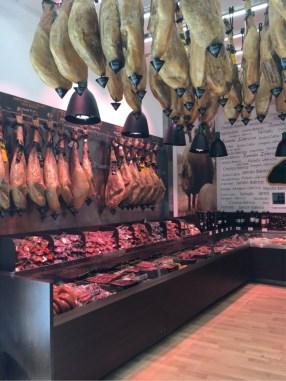 Local Butcher's Shop - model for the Restaurant Cerveceria ceiling.