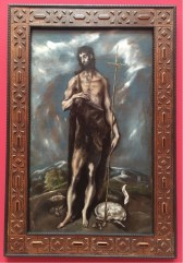 Dome icons Theotocopoulos, 'El Greco', St John the Baptist, 1600-1605